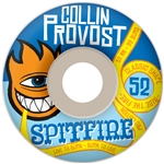Spitfire Provost Sect Bighead Classic Wheels - 52mm White